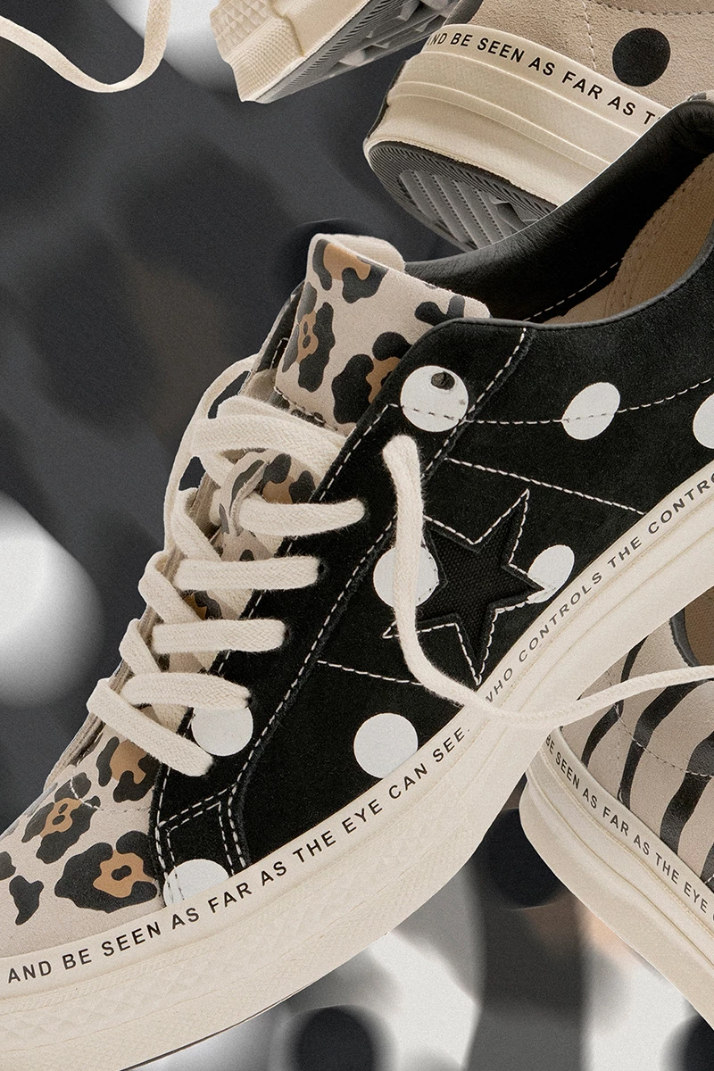converse undefeated one star animal